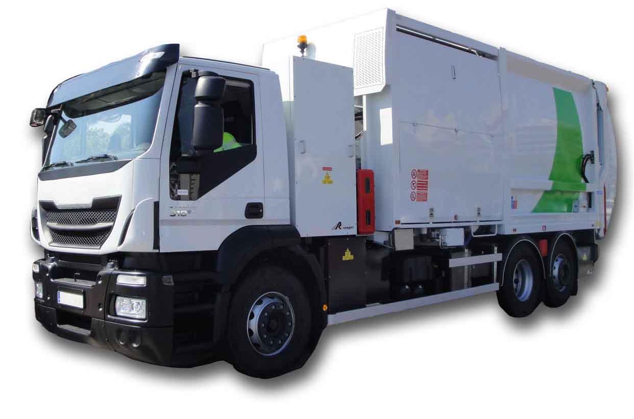 Camión de Recogida de Residuos Urbanos (RSU)